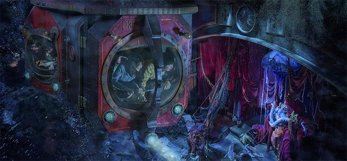 海底2万マイルのラウンジ(画像引用元:Disney)