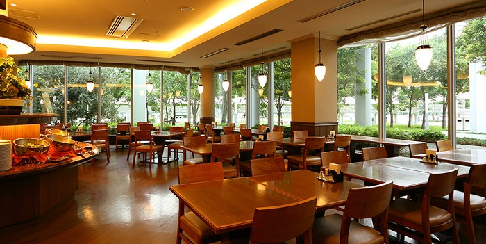 有明ワシントンホテルのレストラン(画像引用元:楽天トラベル)