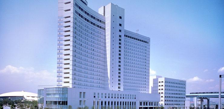 有明ワシントンホテルの外観(画像引用元:楽天トラベル)