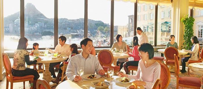 ホテルミラコスタ15周年ラウンジ(画像引用元:Disney)