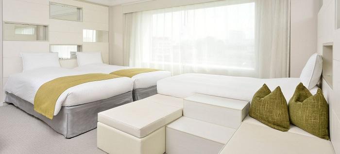 浦安ブライトンホテルの4人家族安い客室
