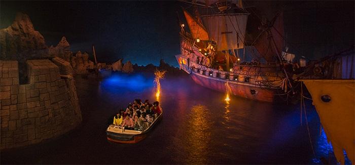 カリブの海賊のラウンジ(画像引用元:Disney)