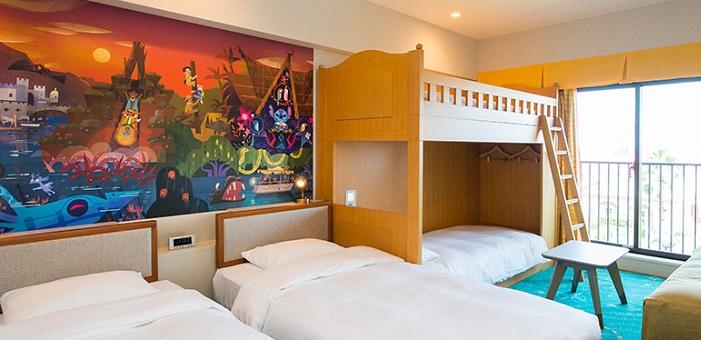 ディズニーセレブレーションホテルの5人部屋