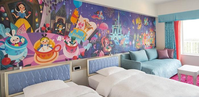 ディズニーセレブレーションホテルの4人部屋
