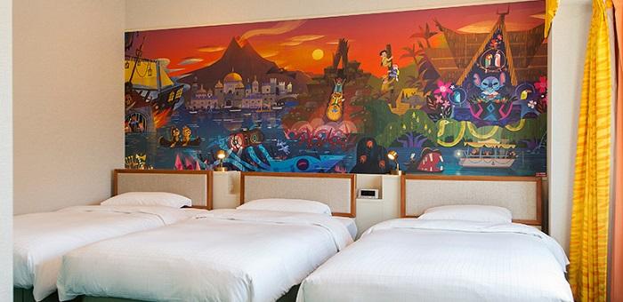 ディズニーセレブレーションホテルの3人部屋