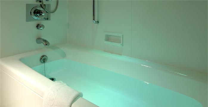 セレブリオのバスルーム(画像引用元:楽天トラベル)