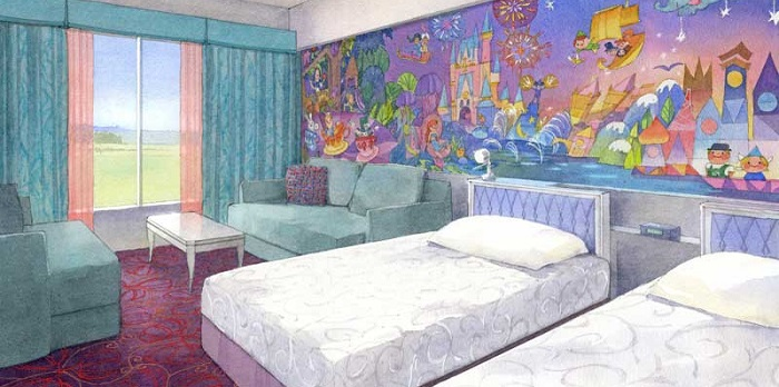 ディズニーセレブレーションホテルウィッシュのイメージ写真(画像引用元:Disney)