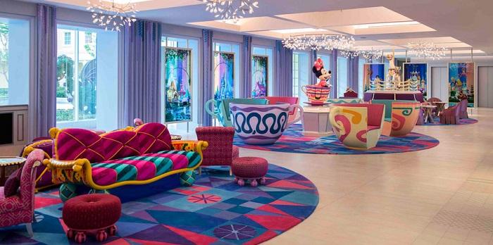 ディズニーセレブレーションホテルウィッシュの館内ロビー写真(画像引用元:Disney)