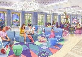 ディズニーセレブレーションホテルウィッシュのロビーイメージ写真(画像引用元:Disney)