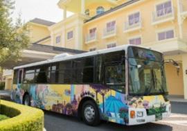 ディズニーセレブレーションホテルウィッシュの無料シャトルバス写真(画像引用元:Disney)