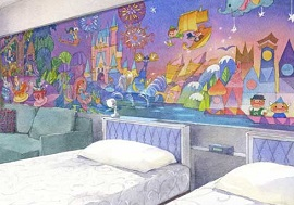 ディズニーセレブレーションホテルウィッシュの客室イメージ写真(画像引用元:Disney)
