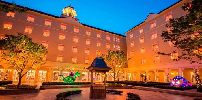 ディズニーセレブレーションホテルウィッシュの外観写真(画像引用元:Disney)