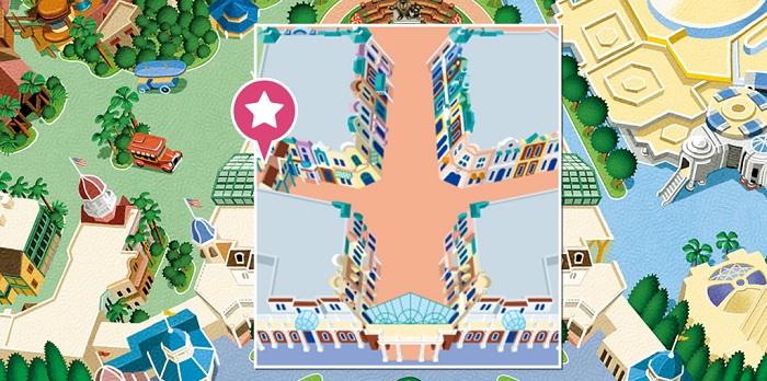 クラブ33の場所(画像引用元:Disney)
