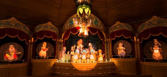 カントリーベアーのラウンジ(画像引用元:Disney)