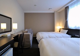 CVS・BAY HOTELのファミリーツイン(画像引用元:楽天トラベル)