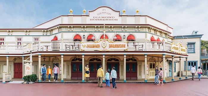 ダイヤモンドホースのラウンジ(画像引用元:Disney)