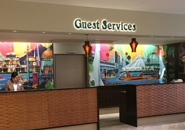セレブレーションホテルのゲストサービス