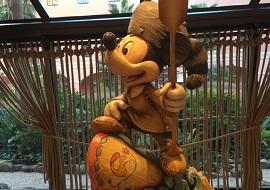 セレブレーションホテルのミッキーミニー
