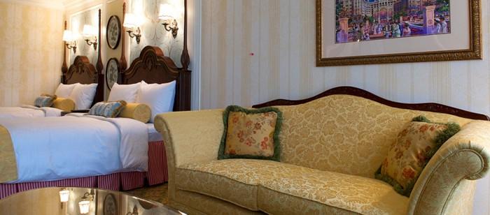 ディズニーランドホテルのファミリールーム(画像引用元:楽天トラベル)