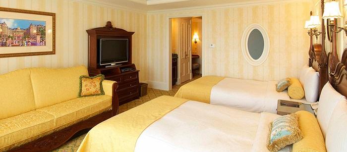 ディズニーランドホテルの5人部屋客室
