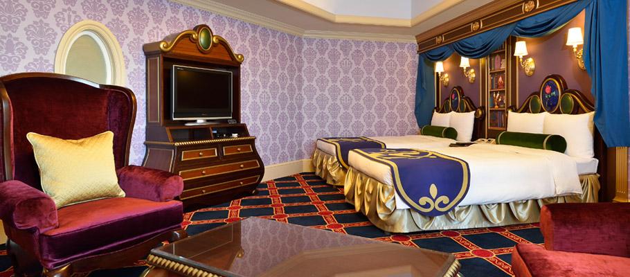 ディズニーランドホテルの客室(画像引用元:ディズニーランドホテル)