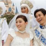ディズニーで結婚式(画像引用元:Disney)