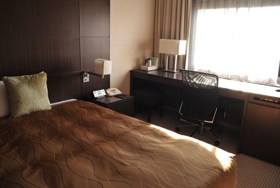 ホテルメトロポリタンエドモントのシングルルーム(画像引用元:ホテルメトロポリタンエドモント)