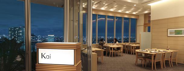 エミオン東京ベイの展望レストラン(画像引用元:楽天トラベル)
