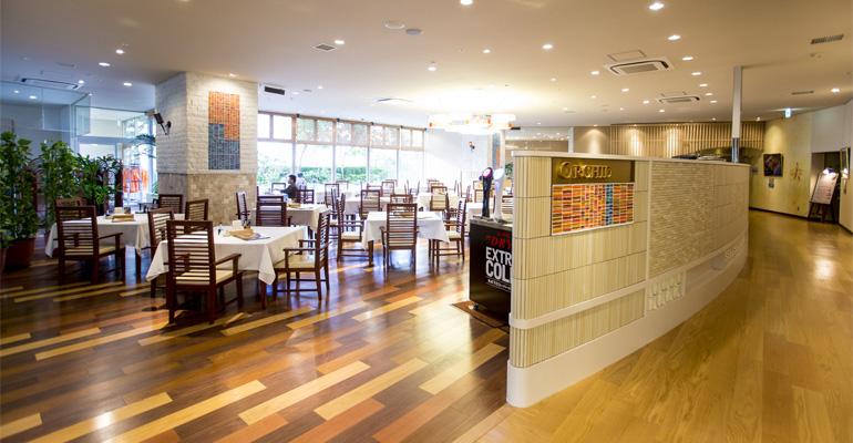 舞浜ユーラシアのレストラン(画像引用元:舞浜ユーラシア)