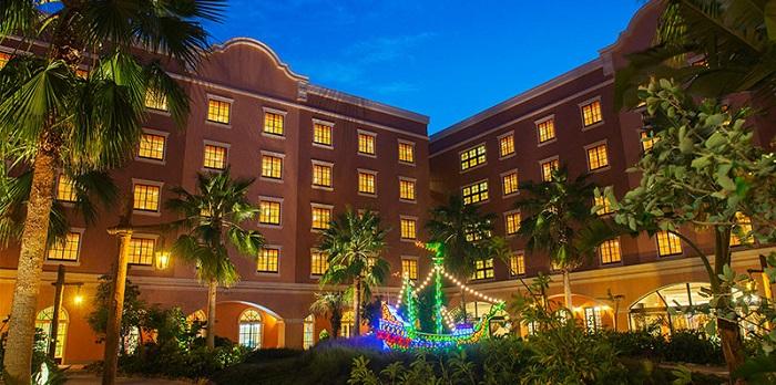 ディズニーセレブレーションホテルディスカバーの外観の写真(画像引用元:Disney)