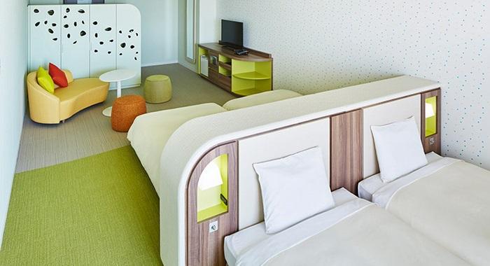 三井ガーデンホテルの4人部屋(画像引用元:楽天トラベル)