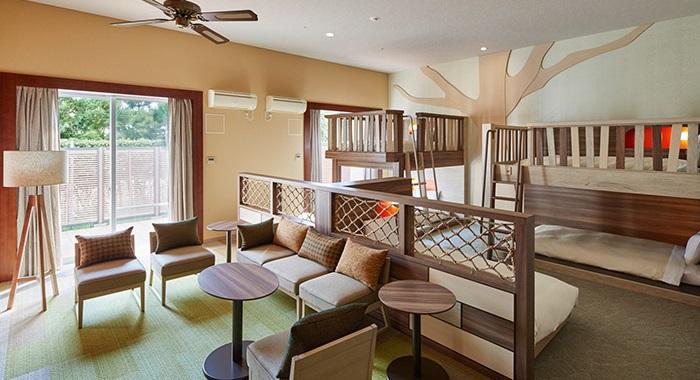 三井ガーデンホテルの2段ベッド客室(画像引用元:楽天トラベル)