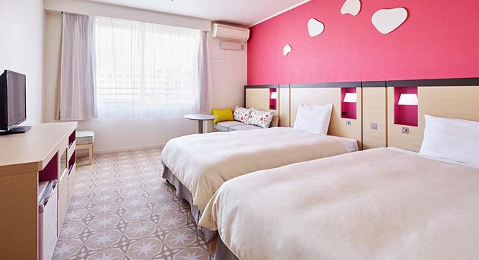 三井ガーデンホテルのスタンダード客室(画像引用元:楽天トラベル)
