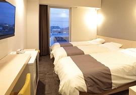 変なホテル舞浜の4人部屋(画像引用元:楽天トラベル)