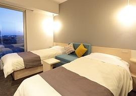 変なホテル舞浜の3人部屋(画像引用元:楽天トラベル)