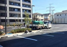 変なホテル舞浜の駐車場(画像引用元:楽天トラベル)