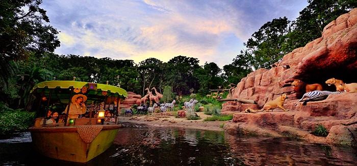 ジャングルクルーズのラウンジ(画像引用元:Disney)