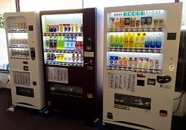 ホテルリブマックス葛西駅前の自動販売機(画像引用元:じゃらん)