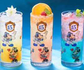 ホテルミラコスタ15周年コレクタブルグラス(画像引用元:Disney)