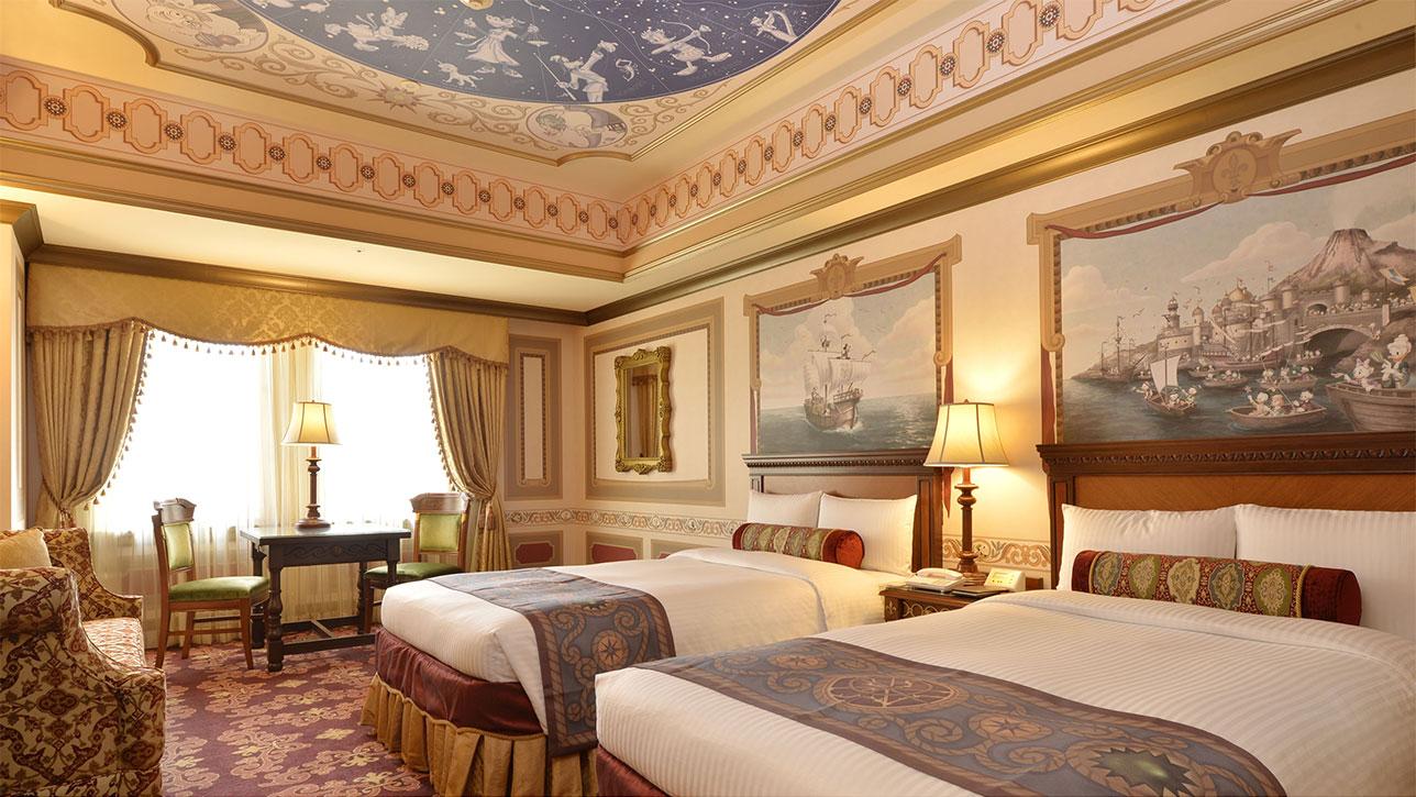 ホテルミラコスタの新客室カピターノミッキー(画像引用元:ホテルミラコスタ)