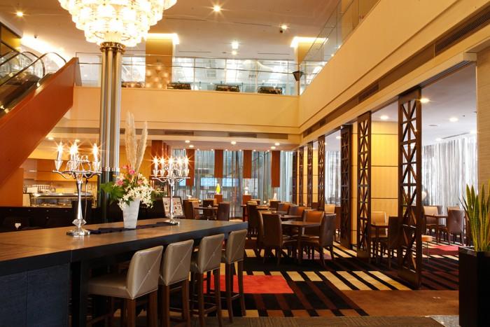 京成ホテルミラマーレのレストラン(画像引用元:楽天トラベル)