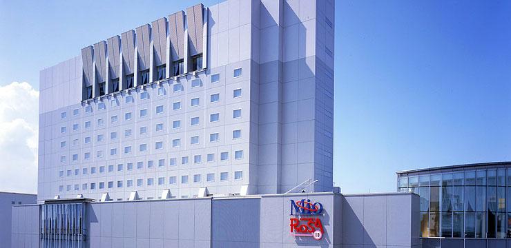 京成ホテルミラマーレの外観(画像引用元:楽天トラベル)