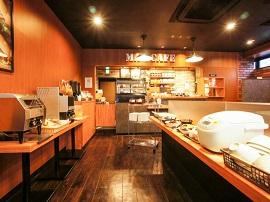 ホテルリブマックス朝食カフェ