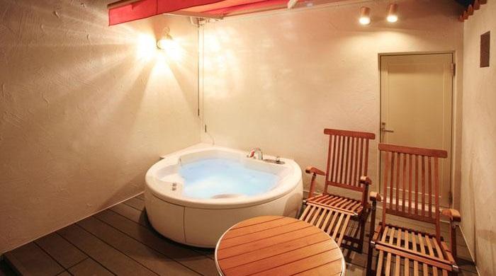 ナイスインホテル舞浜東京ベイの露天風呂(画像引用元:楽天トラベル)