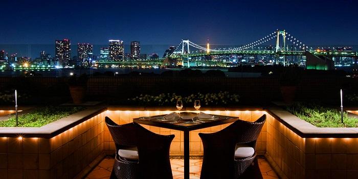 ホテル日航東京のフレンチ(画像引用元:楽天トラベル)