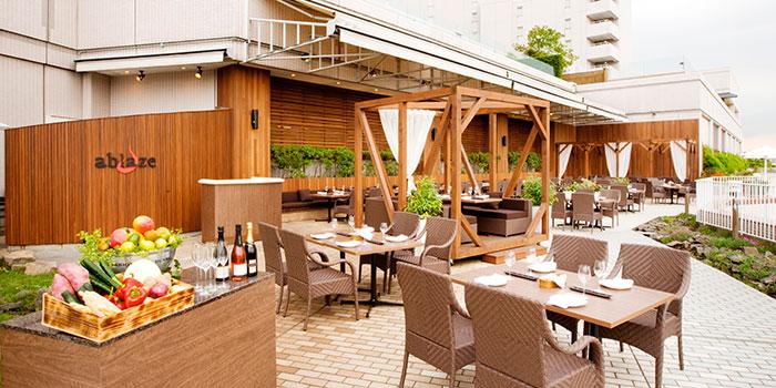 ホテルヒルトン東京お台場(旧日航東京)のレストラン(画像引用元:楽天トラベル)