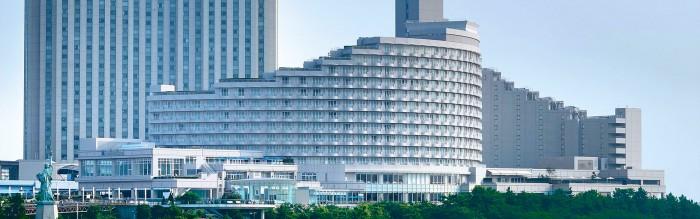 ホテルヒルトン東京お台場(旧日航東京)の外観(画像引用元:楽天トラベル)