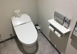 JCBラウンジのトイレ(ニモ&フレンズ・シーライダー)