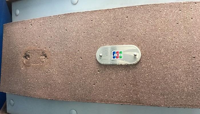JCBラウンジの入り口(ニモ&フレンズ・シーライダー)