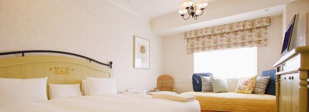 オリエンタルホテル東京ベイのベビーズスイート(画像引用元:楽天トラベル)
